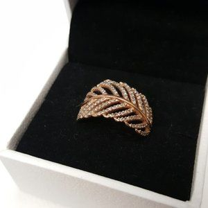 Pandora Light As A Feather ROSE Gold Ring